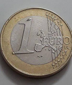 Euro 1 1x Collectible Foreign Collectible Coin of the European Union, 2002-rao