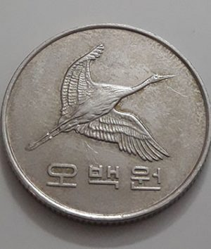 Collectible foreign coins of beautiful design of South Korea in 2012-awq