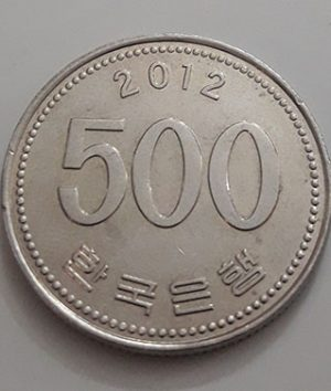 Collectible foreign coins of beautiful design of South Korea in 2012-qwa