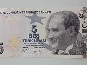 Collectible foreign banknotes of Turkey-aer