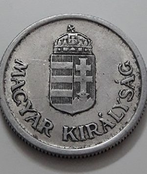 Rare collectible foreign coin Hungary Unit 1 Pengu 1941-qwe