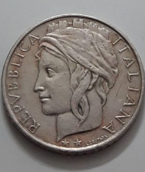 Collectible foreign coins of the beautiful design of Italy in 1998-awc
