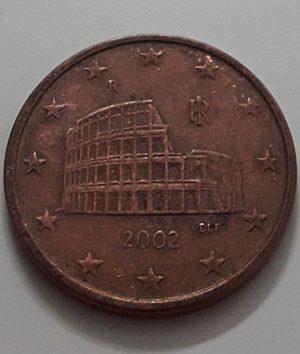 5 EU Cents Collectible Foreign Coin 2002-aeb