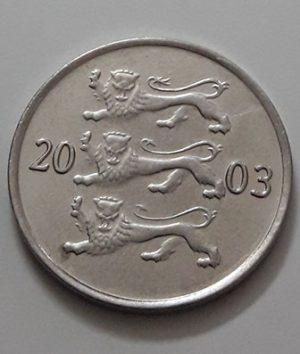 Estonia Collectible Foreign Coins 2003 (Banking Quality)-atc