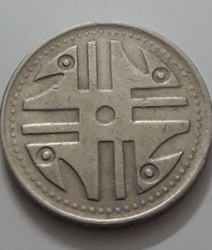 Colombian foreign collectible coin, 200 pesos, 2006-aur