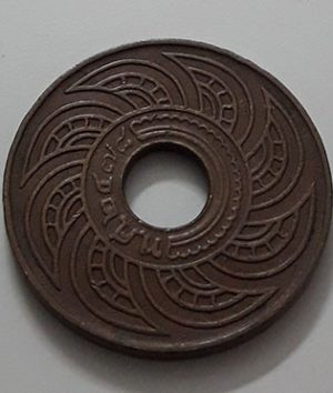 Collectible foreign coin, extremely rare and valuable type of old Thailand-tau