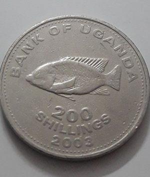 2003 Uganda Collectible Foreign Coin-aig