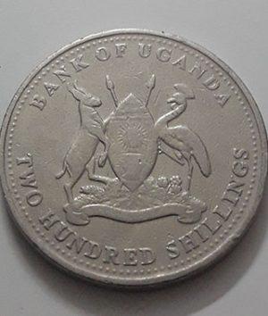 2003 Uganda Collectible Foreign Coin-gai