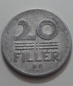 Collectible foreign coin of Hungary, unit 20, 1975-ajs