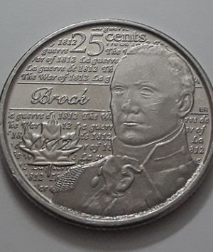 Canadian commemorative foreign collectible coin 2012-aot
