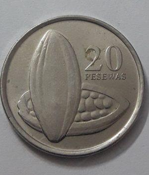 Ghana Collectible Foreign Coin Unit 20 2007-apn