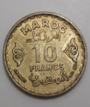 Collectible foreign coins of the beautiful and rare type of Maghreb country-mvm